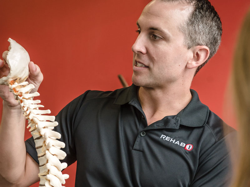 Chiropractors are experts in joint movement and mobility.